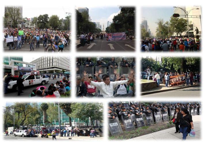 CNTE protestan en 28 embajadas  - http://notimundo.com.mx/mexico/cnte-protestan-en-28-embajadas/24377