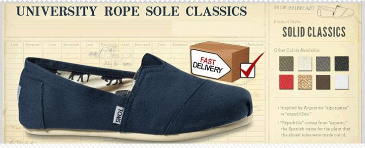 An online TOMS outlet store. Yesssssss.