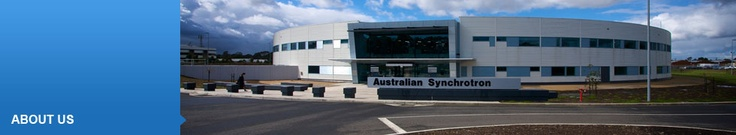 The Australian Synchrotron, world class technology available to Australian Businesses.