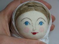Создание лица куклы. Мастер-класс Светланы Ноакес. Йорк, Великобритания