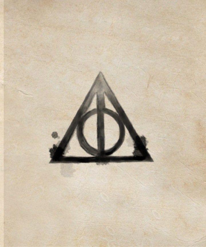Pin By Pamela Sineryova On Harry Potter Deathly Hallows Tattoo Deathly Hallows Triangle Tattoo