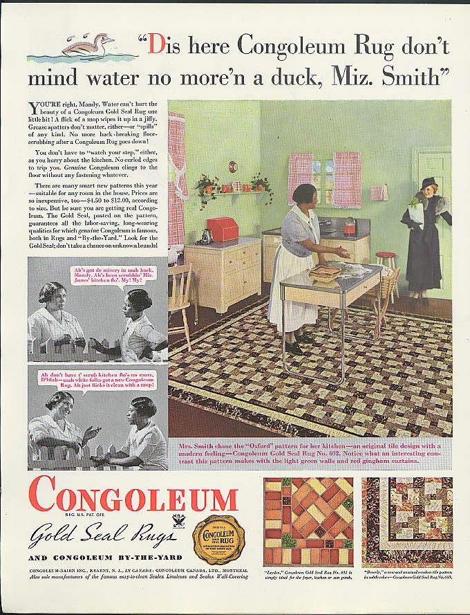 33 Best Linoleum Rugs C 1920s 1950s Images On Pinterest
