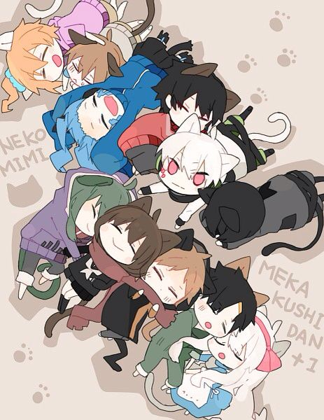 Kagerou project ♡ chibi~ ALSO. SEASON 2 IS COMING