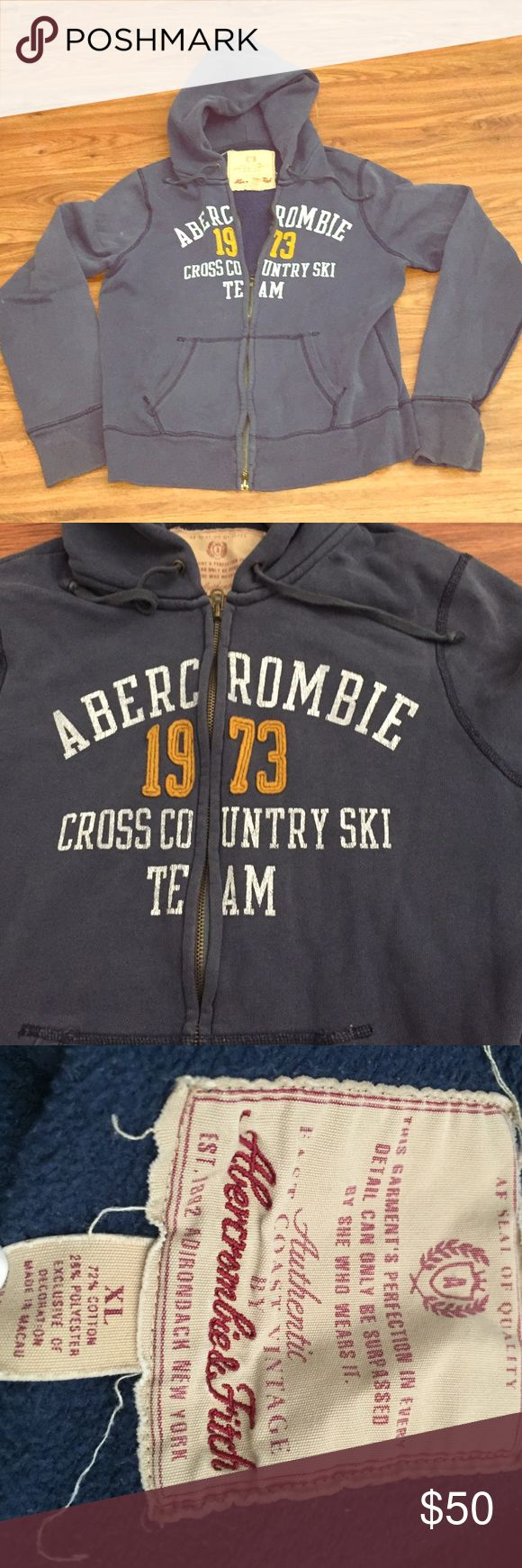 Abercrombie Fitch Authentic Vintage Hoodie Vintage Hoodies Hoodies Abercrombie
