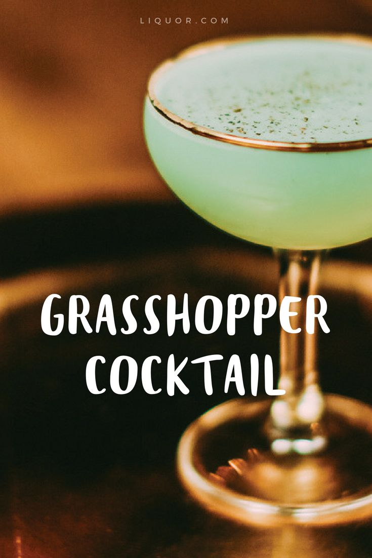 You need to taste this green minty #classic #cocktail as soon as possible.