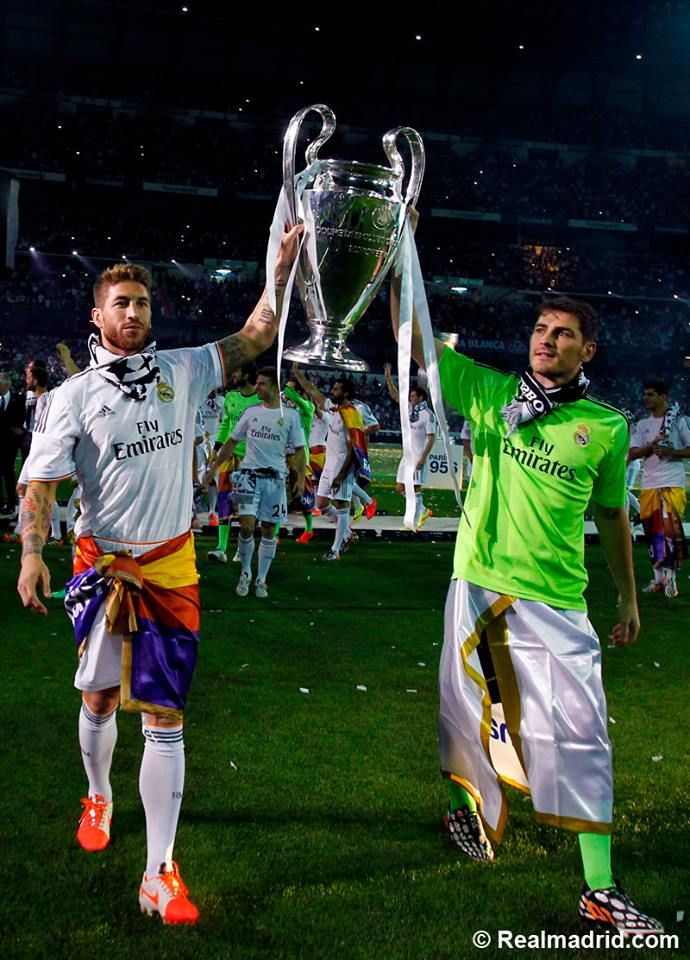 Real Madrid winners champions league 2014...La decima!!!