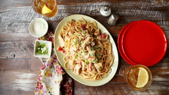 Make and share this Creamy Cajun Chicken Pasta recipe from Genius Kitchen.