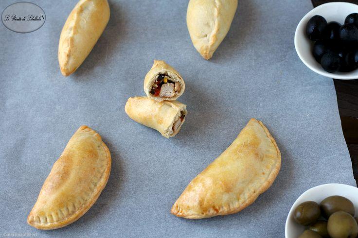Empanadas+di+pollo+cotte+al+forno