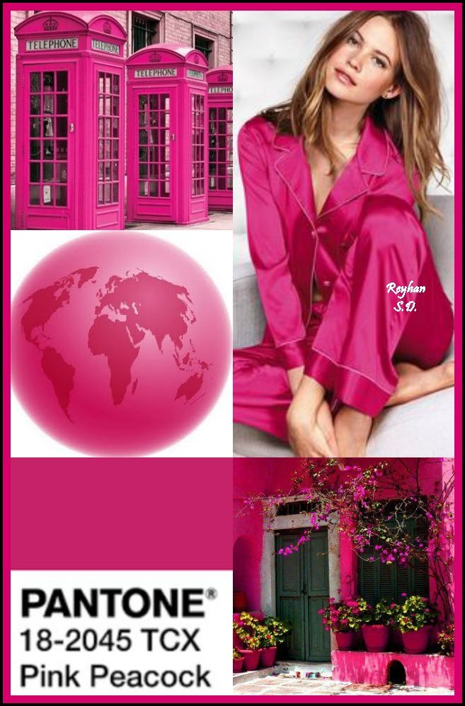 Color Trending Pink: '' Pantone Fall/ Winter 2018-2019 Colors Trends: Pink