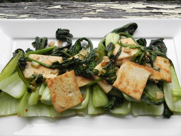Stir Fried Bok Choy and Tofu | S A L T | Pinterest
