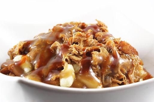 Poutine en Folie (Jarry Est) - Top Menu