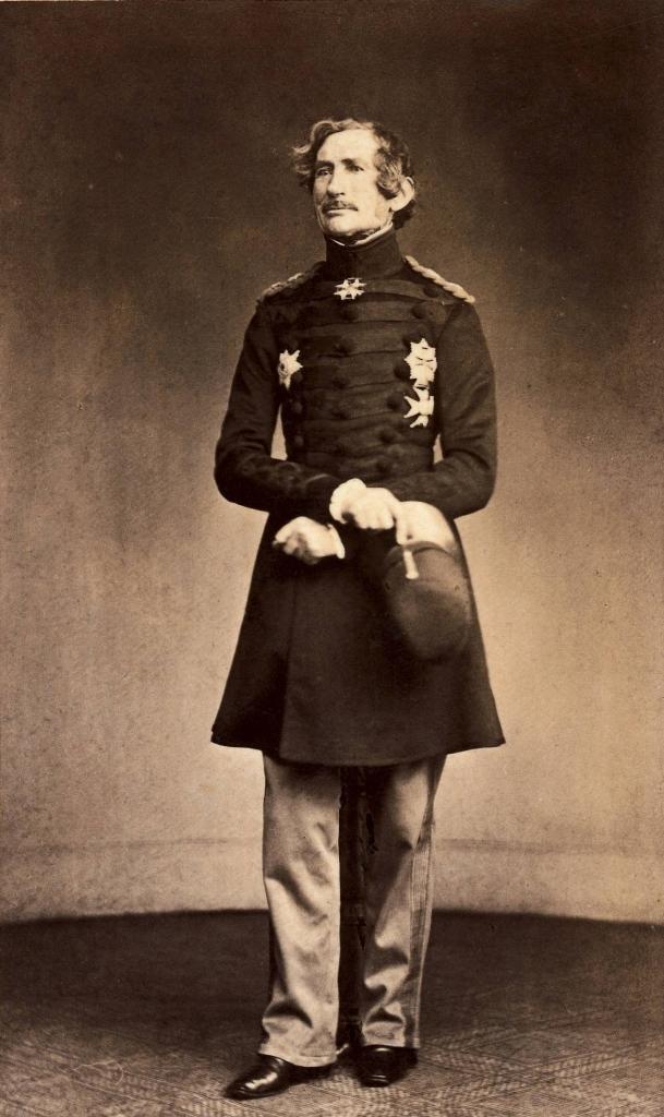 Danish general Julius De Meza, 1864