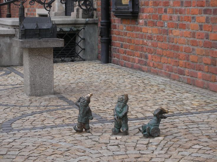 Gnomes, Wroclaw