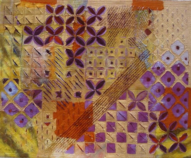 Layered Cloth by Ann Small | Fiber art quilts, Fabric art ...