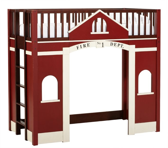Love this for Eli's room!Barns Kids, Boys Bedrooms, Children Bedrooms, Kids Room, Pottery Barn Kids, Loft Beds, Boys Room, Bedrooms Ideas, Pottery Barns