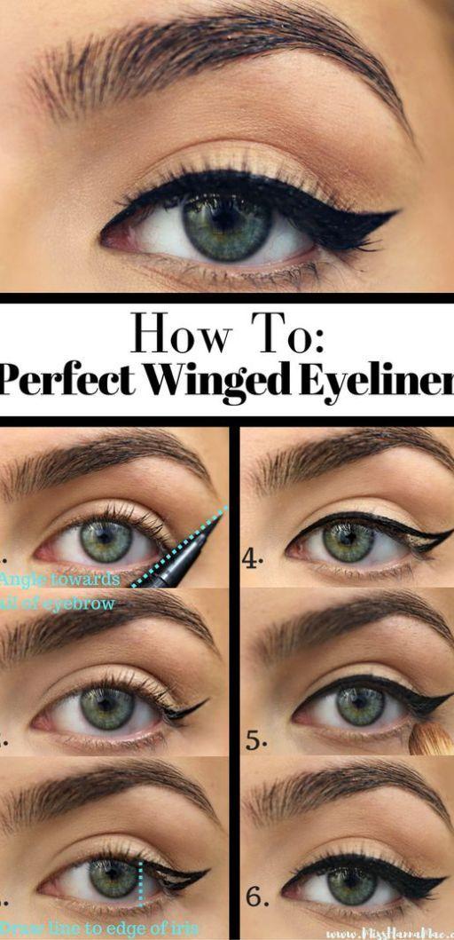 10 simple eyeliner tutorials for beginners