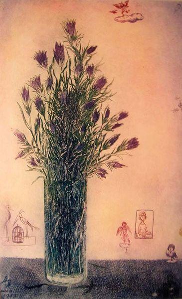 Gross Arnold - Virágcsokor / Bouquet