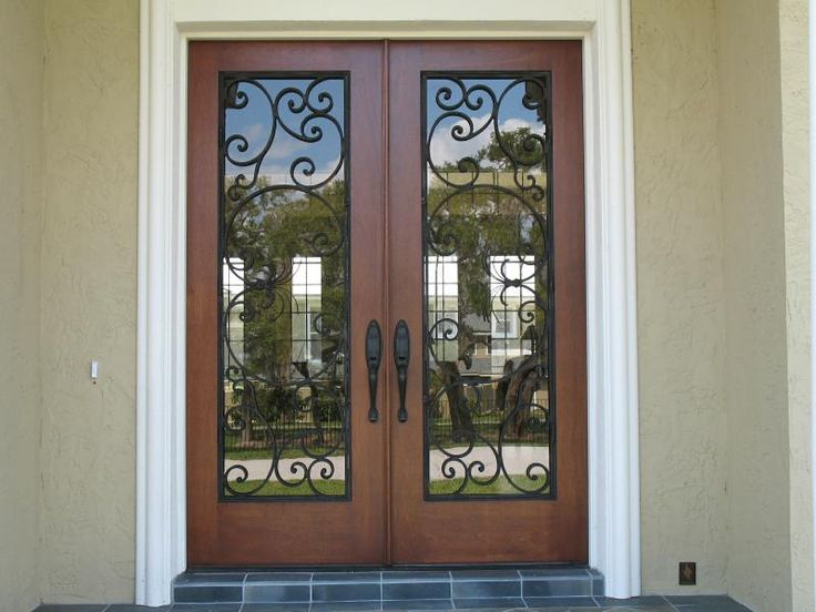 1000 images about doors on pinterest double entry doors for Double wood doors with glass