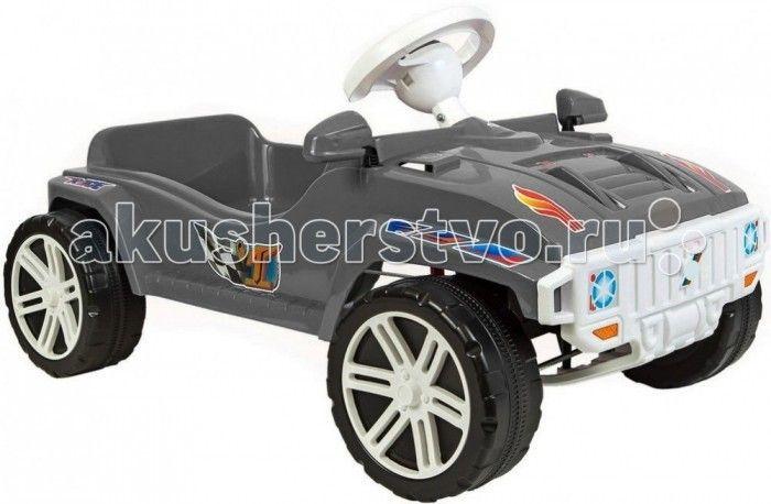 R-Toys Машина педальная Race Maxi Formula 1  R-Toys Машина педальная Race Maxi Formula 1 из нашего детства. Механизм педалей такой, как в детстве был у советских машинок.   Особенности: Автомобиль не имеет дна, но оснащен удобным сиденьем и двумя надежными педалями, которые запускают в движение колеса. Достаточно по очереди нажимать на педали и машина будет ехать вперед.  Поворачивая руль, автомобиль можно направлять направо или налево. Ребенок оценит этот простой, но очень необычный и…