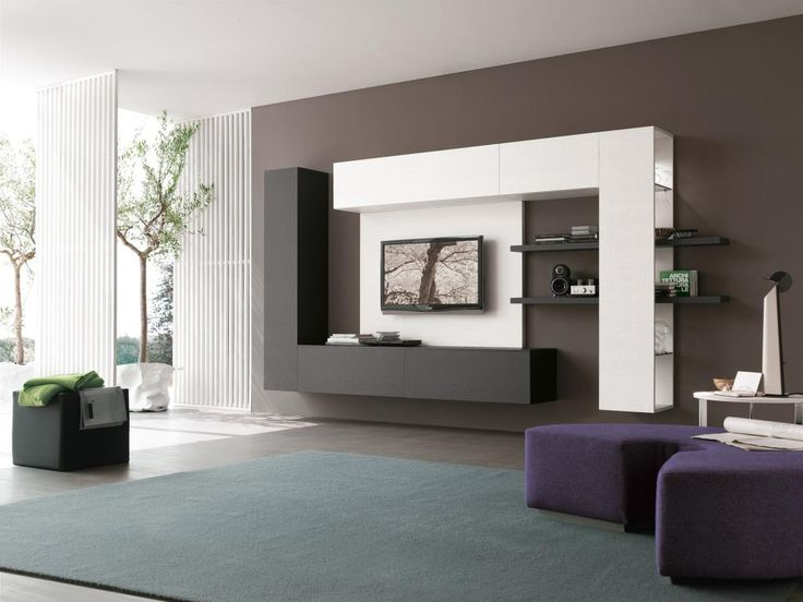 Winsome Furniture Living Room Design Idea On The Wall Beside Tv Unit  Including Gray Rug On Part 48