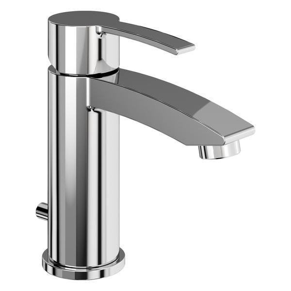 Britton Sapphire Basin Mixer Tap With Pop Up Waste Bathroomideas Bathroomdecor Bathroomdesign Bathroomremodel Taps Basin Mixer Taps Basin Mixer Basin