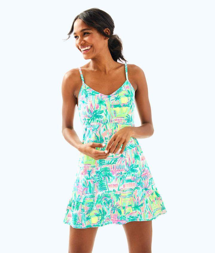 9edaaa58f63db Lilly Pulitzer UPF 50+ Meryl Nylon Luxletic Adelia Tennis Dress Tennis  Dress