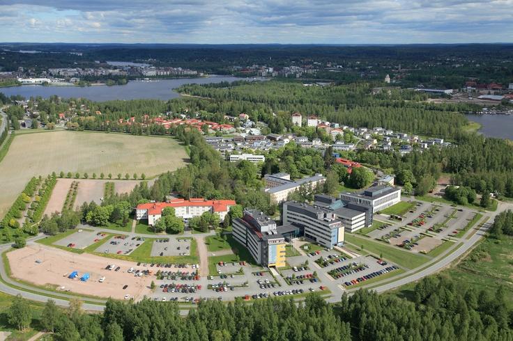 Visamäki Campus in Hämeenlinna (my school!)
