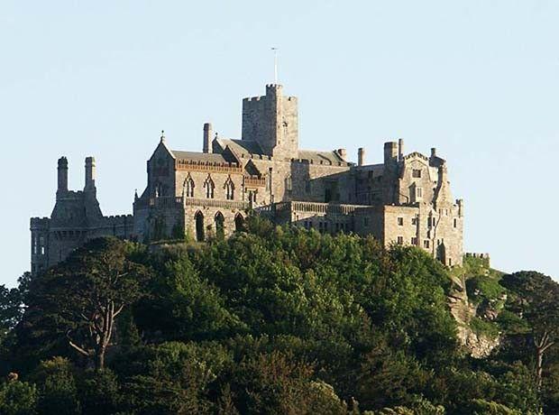 Castelo de San Michel - Cornuália - Inglaterra