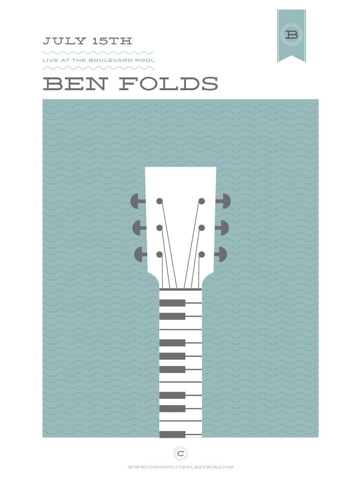 Ben folds, by Benjamin Garner
