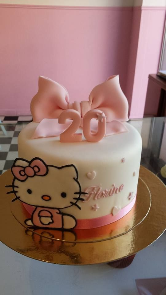 Cake Designs Of Hello Kitty : Best 20+ Hello kitty cake design ideas on Pinterest ...