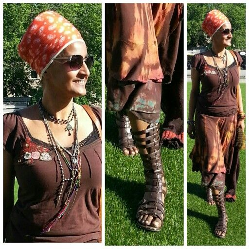 Stepping into battle with a gladiator sandal the deluxe gladiator....Summer is here  #turbanista