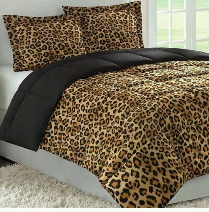 LEOPARD BED SPREAD. Thinking of re doing my bedroom