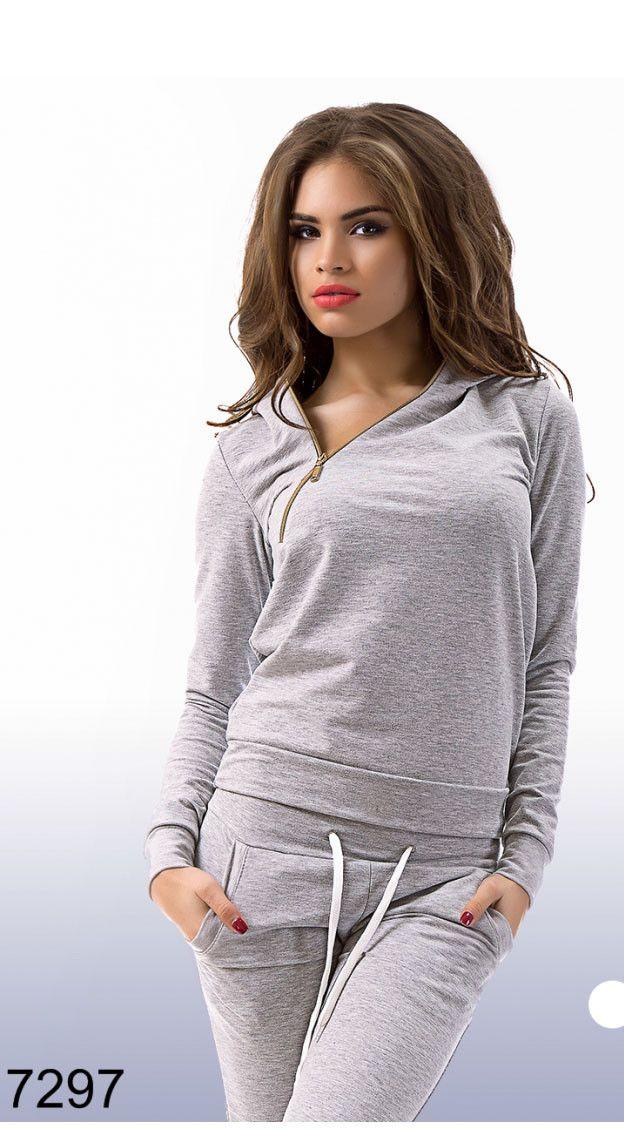 Спортивный костюм женский трикотаж — купить в интернет магазине одежды Модный Мир. Цены