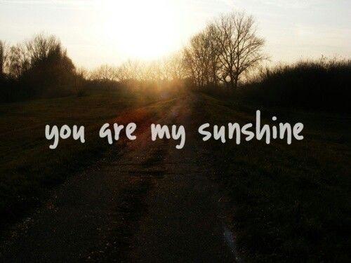 Sunshine. ☀