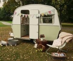 I Heart Shabby Chic: Shabby Chic Meets Vintage Caravan