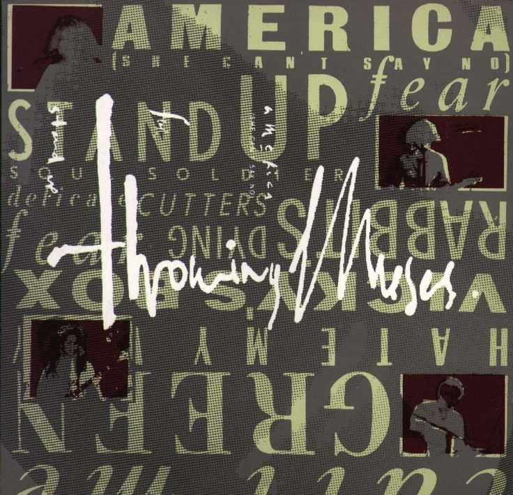 Album cover Throwing Muses - Throwing Muses, by Vaughan Oliver