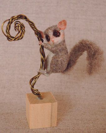 ERMAGERD the tiny felted critters from this artist just kill me!