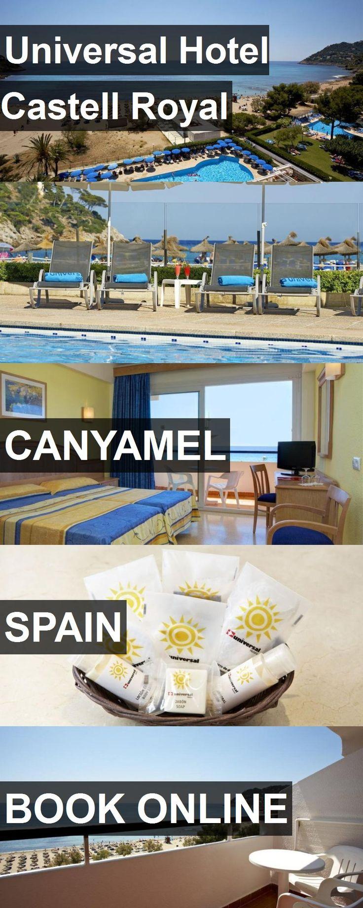 Universal Hotel Castell Royal in Canyamel, Spain. For more information, photos, reviews and best prices please follow the link. #Spain #Canyamel #travel #vacation #hotel