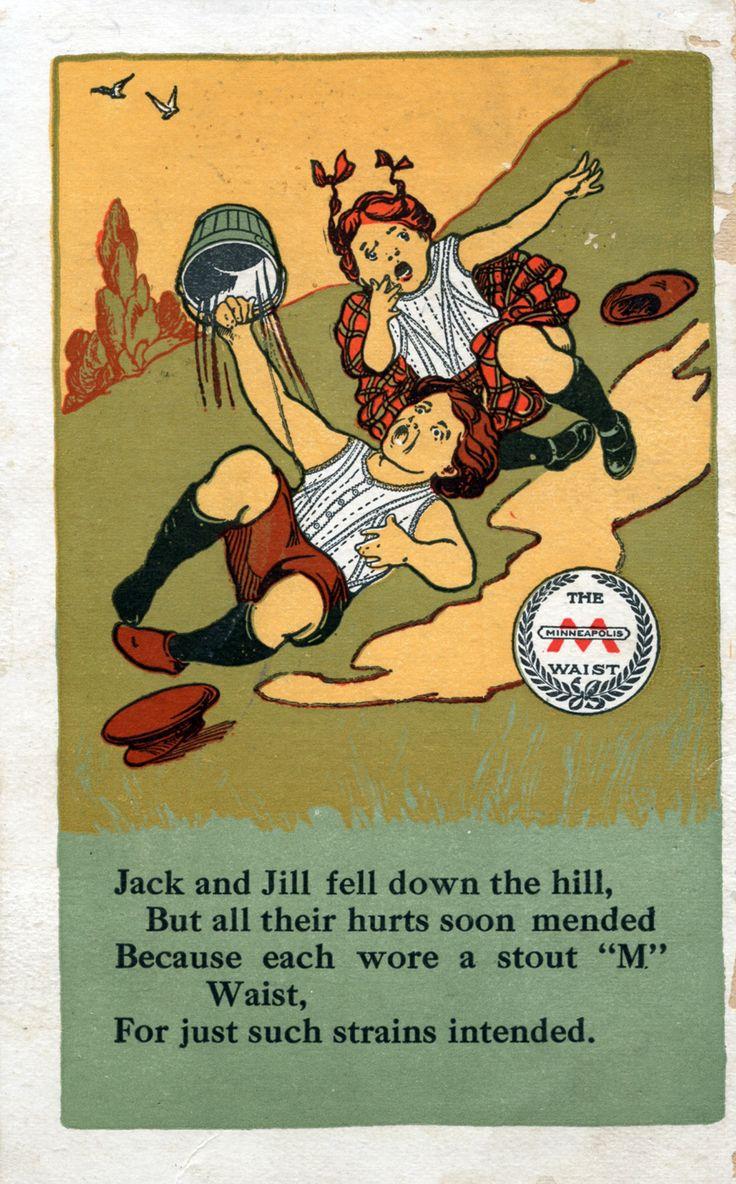 Minneapolis Waist, Minneapolis Knitting Works, circa 1910 - Advertising Postcard |