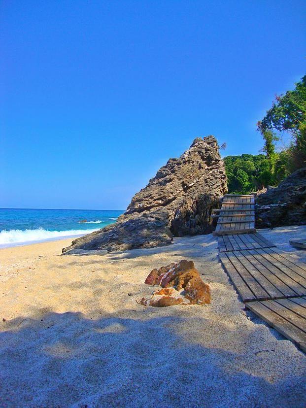 Plaka beach, Pilion