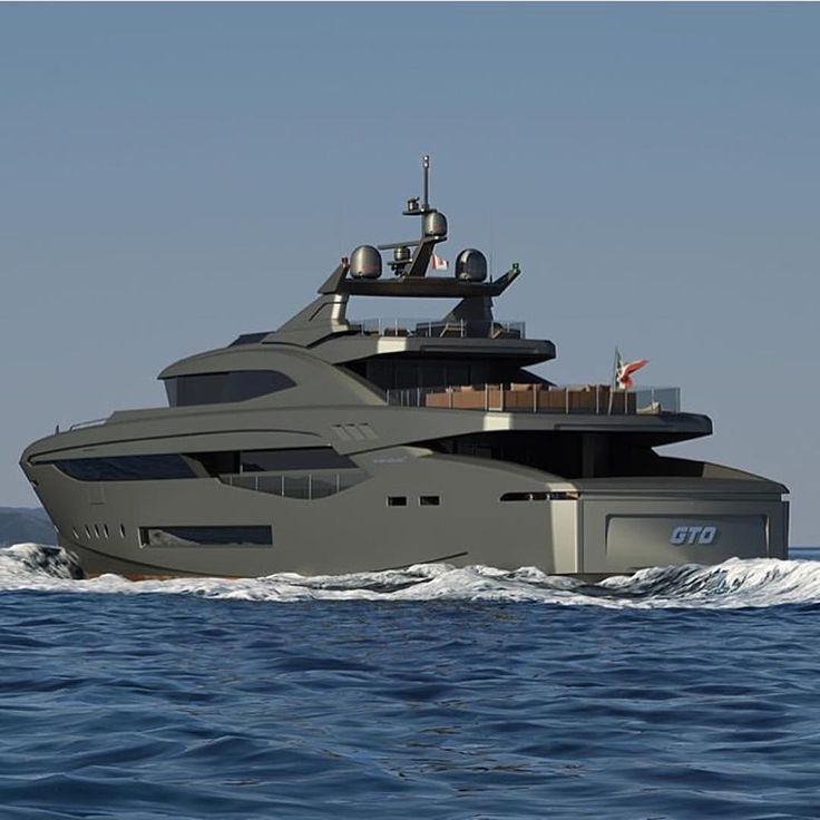 Mondomarine M50GTO # rodeoand5th #luxury #yacht #yachtlife By @mondomarine_