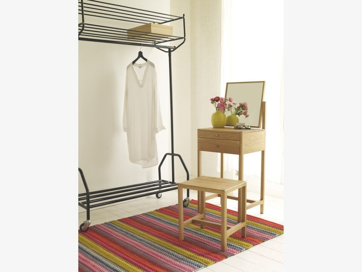 LIMBO NEUTRAL Wood Oak dressing table and stool - HabitatUK The small and compact Limbo oak dressing table and stool features an adjustable dressing mirror, ample storage and fits perfectly into the smallest of spaces.