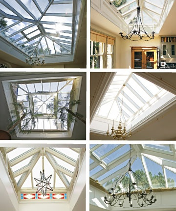 glass roof dreaming for the kitchen