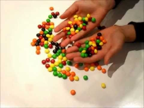 Skittles commercial stop motion inspiration day