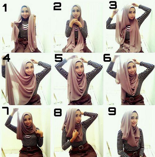 Style Eksentrik Tutorial Hijab Dian Pelangi