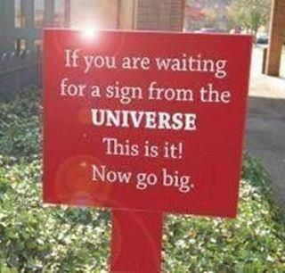 A sign from the universe…Thinking Big, Buy A House, Bays Area, Inspiration, Neon Signs, The Universe, Northern California, Mr. Big, Yards