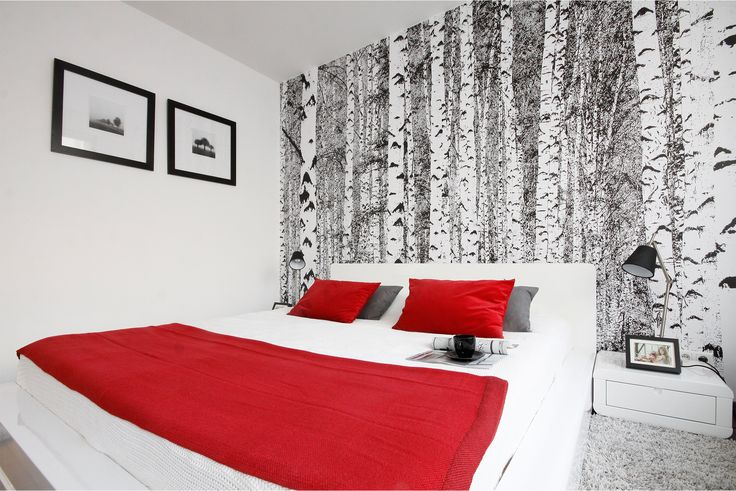 #bedroom #onedesign #design #onedesignpl #red #room #interior #architecture