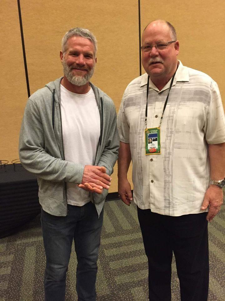 Brett and Mike Holmgren