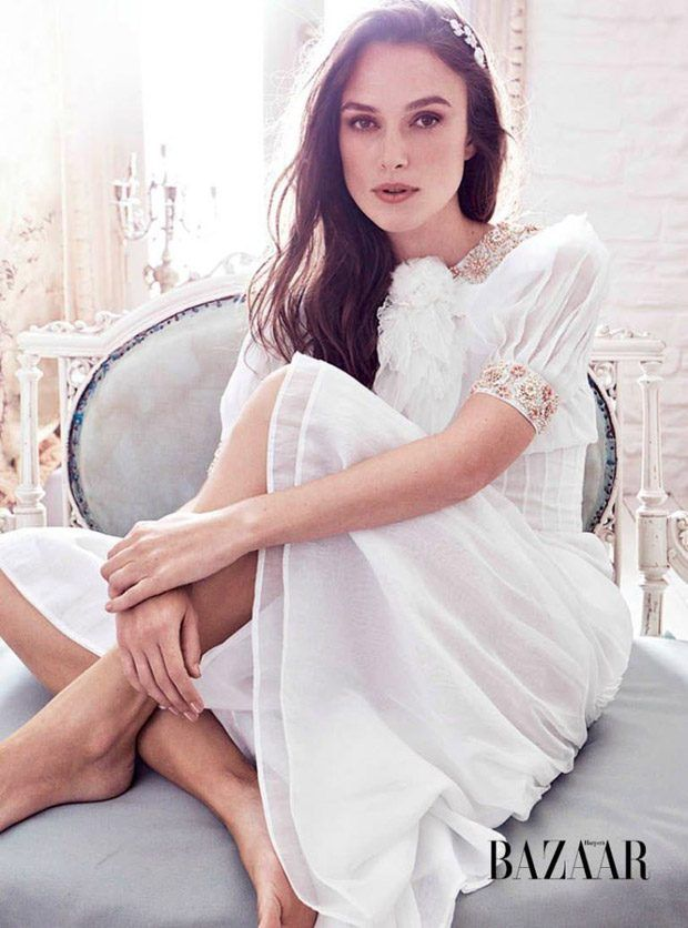 Keira Knightley Stuns in Chanel for Bazaar UK December 2016 Cover Story