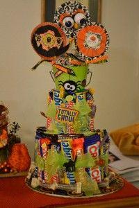 Make a candy bar cake!